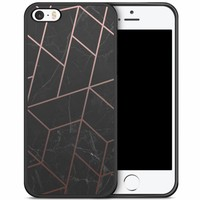 iPhone 5/5S/SE hoesje - Marble grid