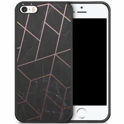 iPhone 5/5S/SE hoesje - Marble grid