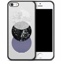 iPhone 5/5S/SE hoesje - Marble twist