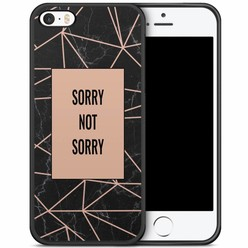 iPhone 5/5S/SE hoesje - Sorry not sorry