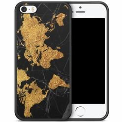 iPhone 5/5S/SE hoesje - Wereldmap