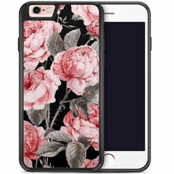 iPhone 6/6s hoesje - Moody florals