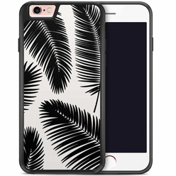iPhone 6/6s hoesje - Palm leaves silhouette