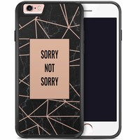 iPhone 6/6s hoesje - Sorry not sorry