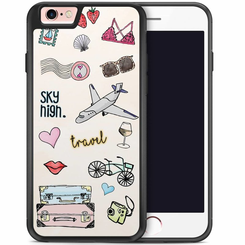iPhone 6/6s hoesje - Let's travel