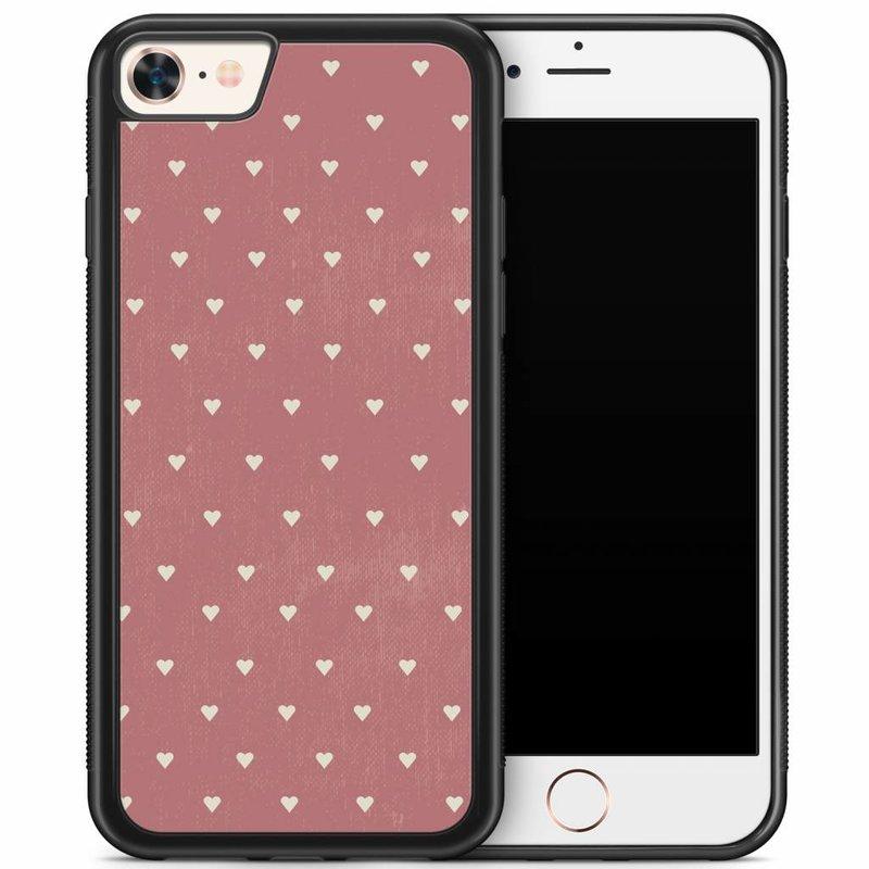 iPhone 8/7 hoesje - Vintage hart