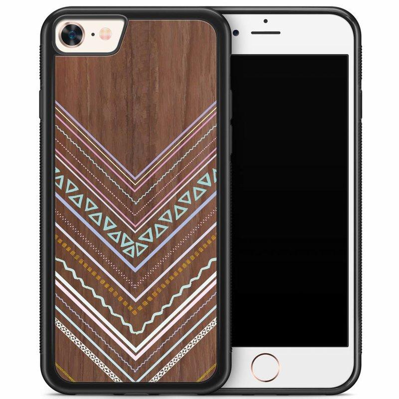 iPhone 8/7 hoesje - Wooden lines
