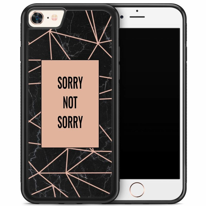 iPhone 8/7 hoesje - Sorry not sorry