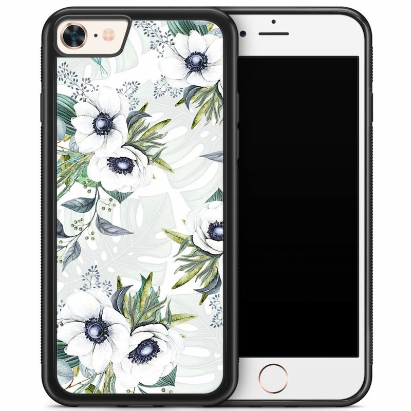 iPhone 8/7 hoesje - Floral art