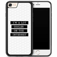 iPhone 8/7 hoesje - Cooler on the internet