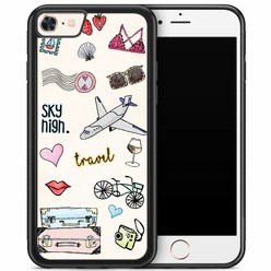 iPhone 8/7 hoesje - Let's travel