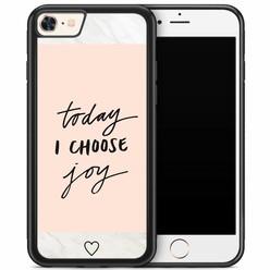 iPhone 8/7 hoesje - Choose joy