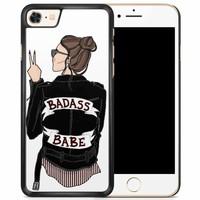 iPhone 8/7 hoesje - Badass girl