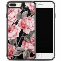 iPhone 8 Plus/iPhone 7 Plus hoesje - Moody florals