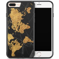 iPhone 8 Plus/iPhone 7 Plus hoesje - Wereldmap