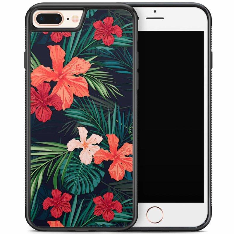 iPhone 8 Plus/iPhone 7 Plus hoesje - Flora