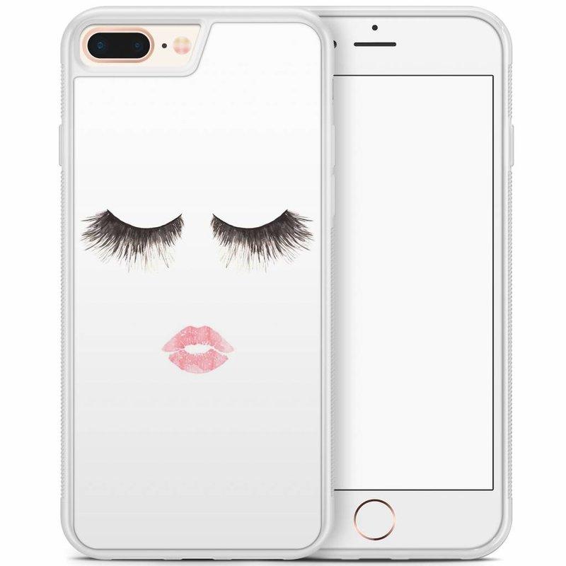 iPhone 8 Plus/iPhone 7 Plus hoesje - Fashion eyelashes