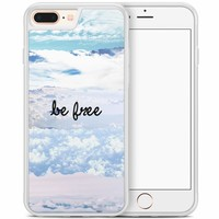 iPhone 8 Plus/iPhone 7 Plus hoesje - Be free