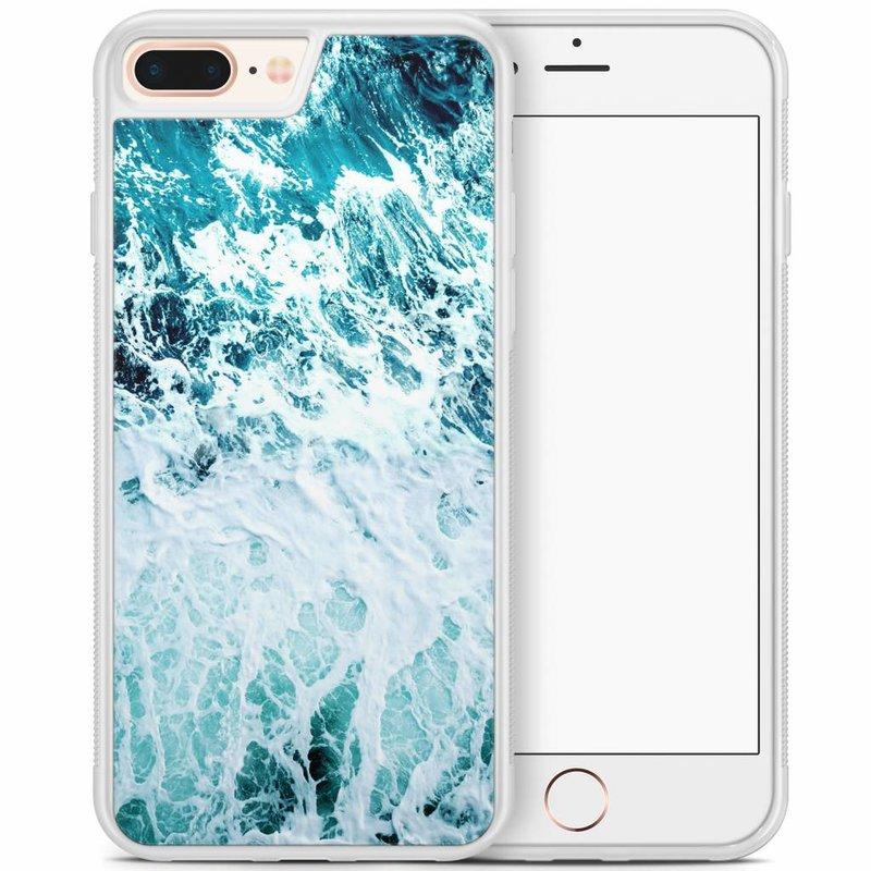 iPhone 8 Plus/iPhone 7 Plus hoesje - Oceaan