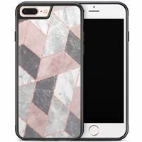 iPhone 8 Plus/iPhone 7 Plus hoesje - Stone grid
