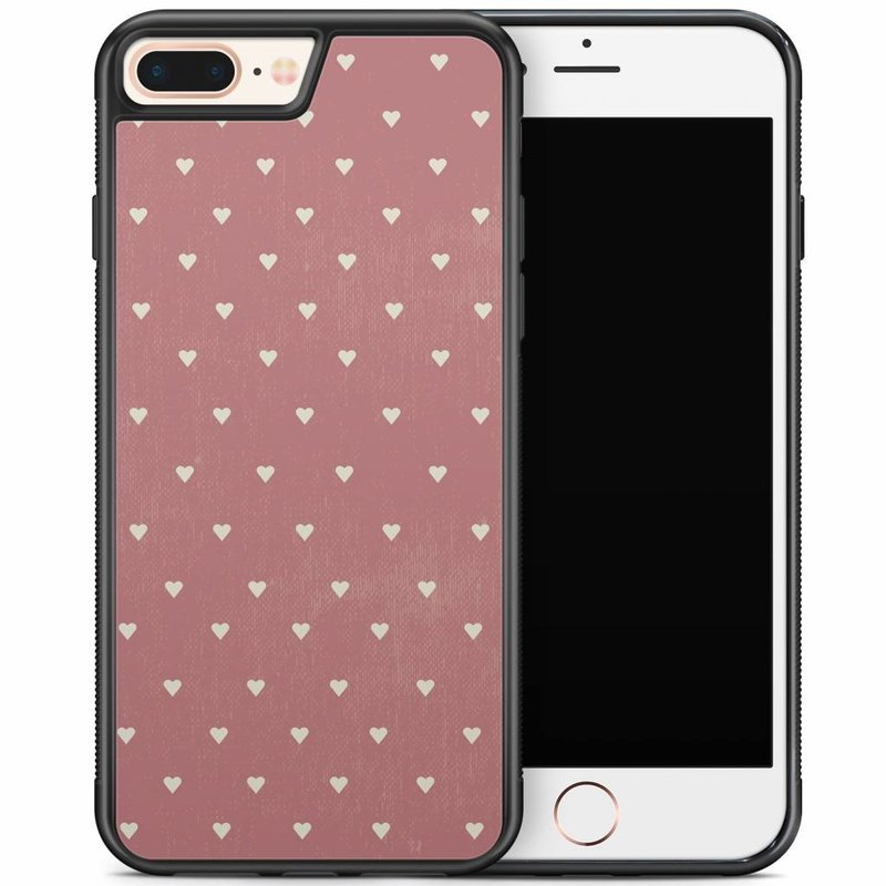 iPhone 8 Plus/iPhone 7 Plus hoesje - Vintage hart