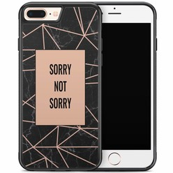 iPhone 8 Plus/iPhone 7 Plus hoesje - Sorry not sorry