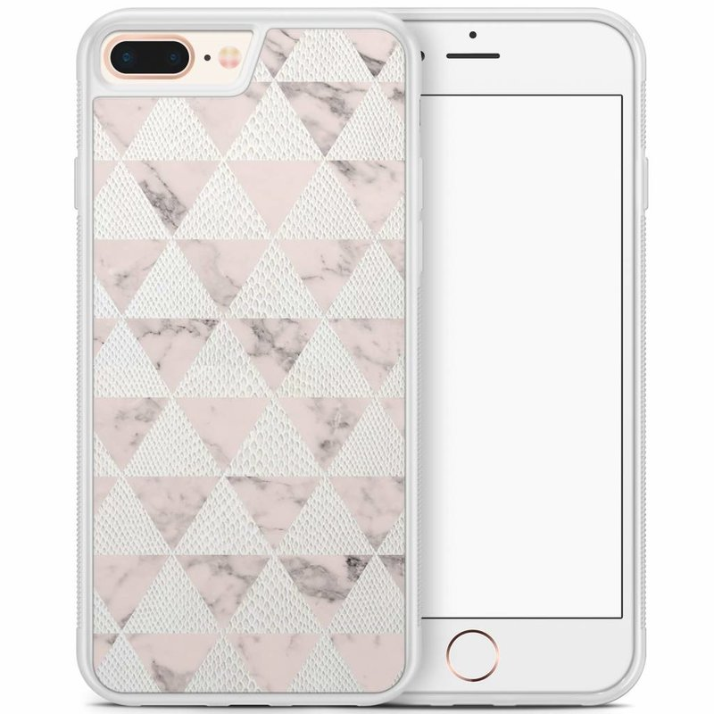 iPhone 8 Plus/iPhone 7 Plus hoesje - Triangle snake