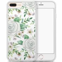 iPhone 8 Plus/iPhone 7 Plus hoesje - lovely flora
