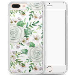 iPhone 8 Plus/iPhone 7 Plus hoesje - lovely flora
