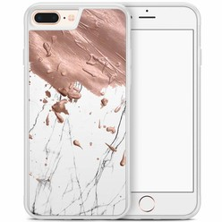 iPhone 8 Plus/iPhone 7 Plus hoesje - Marble splash