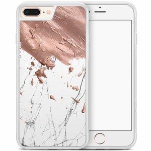 iPhone 8 Plus/iPhone 7 Plus hoesje - Marble splash