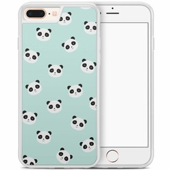 iPhone 8 Plus/iPhone 7 Plus hoesje - Panda's