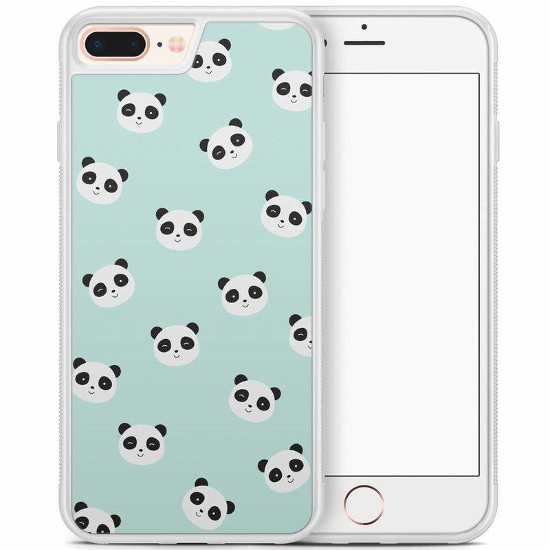 iPhone 8 Plus/iPhone 7 Plus hoesje - Panda's