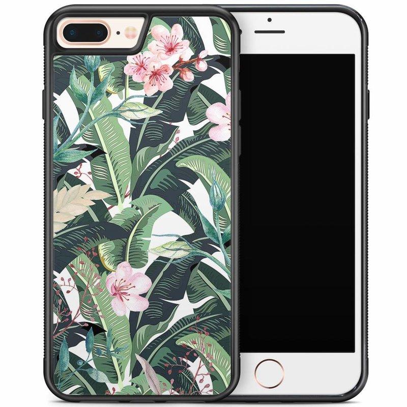 iPhone 8 Plus/iPhone 7 Plus hoesje - Tropical banana