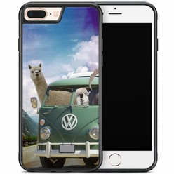 iPhone 8 Plus/iPhone 7 Plus hoesje - Lama wanderlust