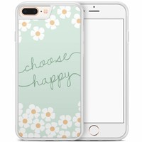 iPhone 8 Plus/iPhone 7 Plus hoesje - Choose happy