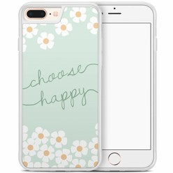 iPhone 8 Plus/iPhone 7 Plus hoesje - Choose happy