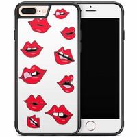 iPhone 8 Plus/iPhone 7 Plus hoesje - Kisses