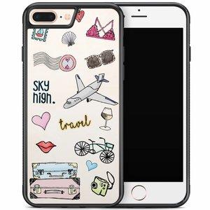 iPhone 8 Plus/iPhone 7 Plus hoesje - Let's travel