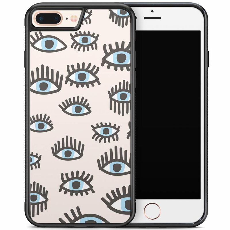 iPhone 8 Plus/iPhone 7 Plus hoesje - Eyes on you