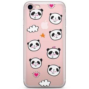 iPhone 8/7 siliconen hoesje - Panda