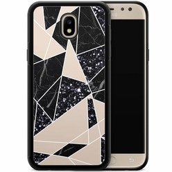 Samsung Galaxy J7 2017 hoesje - Abstract painted
