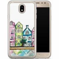 Casimoda Samsung Galaxy J7 2017 siliconen hoesje - Amsterdam