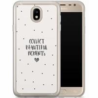 Casimoda Samsung Galaxy J7 2017 siliconen hoesje - Collect beautiful moments