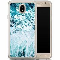 Casimoda Samsung Galaxy J7 2017 siliconen hoesje - Oceaan