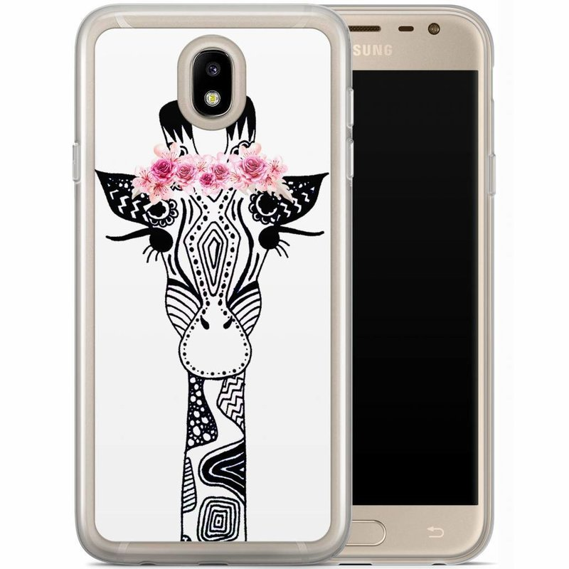 Casimoda Samsung Galaxy J5 2017 siliconen hoesje - Giraffe