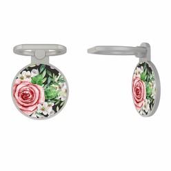 Zilveren telefoon ring houder - Rose story