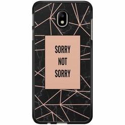 Samsung Galaxy J3 2017 hoesje - Sorry not sorry