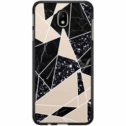 Samsung Galaxy J3 2017 hoesje - Abstract painted