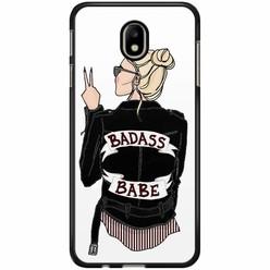 Samsung Galaxy J3 2017 hoesje - Badass girl
